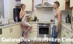 Bokep 3GP Goddess looking Russian beauty having fun experimenting on the kitchen naked 2019